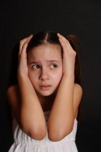 ילדים בחרדה או במתח